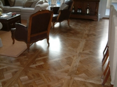 1. Antique stain on Oak parquet Brighton