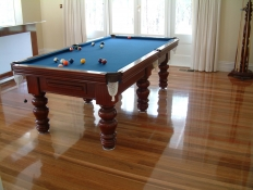 1. Polished Spotted Gum Floorboards Park Orchards