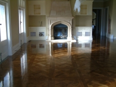 1. Stained oak parquetry Harkaway