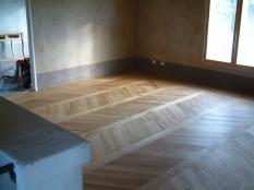1. Whittle Wax on European Oak