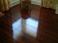 2. Jarrah Stain on Baltic Pine Caulfield