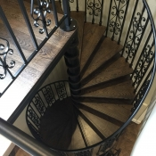 4. Antique Stain American Oak Stair Treads