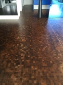 4. Fumed Oak End Grain Parquetry CBD 1