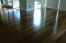 4. Spotted Gum Moisture Cured Satin Finish